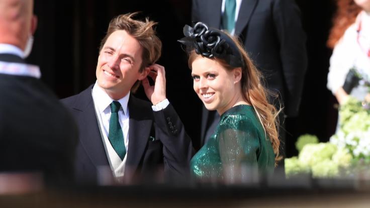 Die Hochzeit von Prinzessin Beatrice von York und Edoardo Mapelli Mozzi könnte aufgrund des Coronavirus ins Wanken geraten.