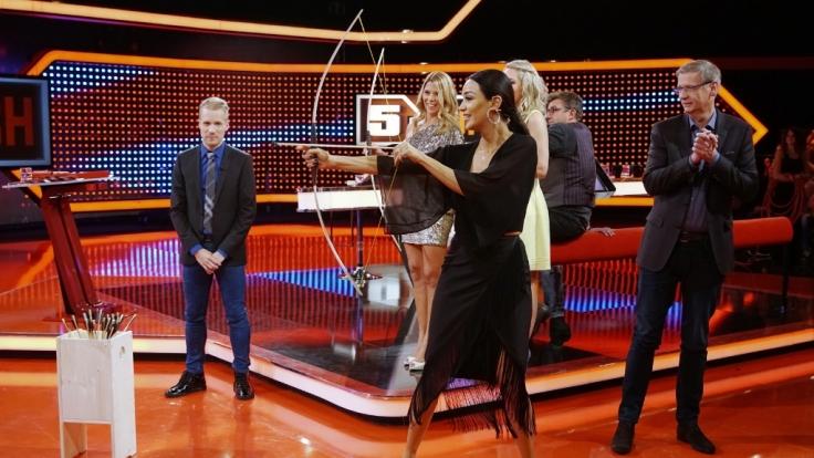 """Am Freitag zeigte RTL eine neue Ausgabe von """"5 gegen Jauch - Prominenten-Special"""". (Foto)"""