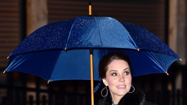 Kates Auftritt in Stockholm sorgte für reichlich Gesprächsstoff.