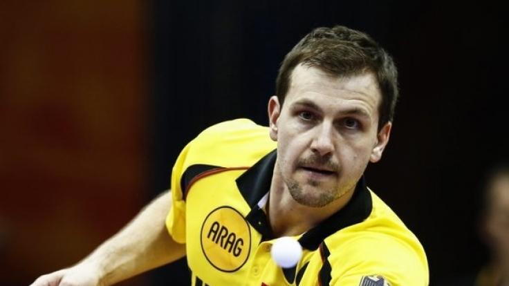 Große Ehre: Timo Boll darf zur Olympia-Eröffnung die deutsche Fahne tragen.