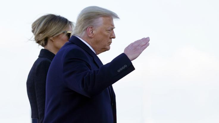Die Nachrichten des Tages bei news.de: Donald Trumps Amtsenthebung ist gescheitert (Foto)