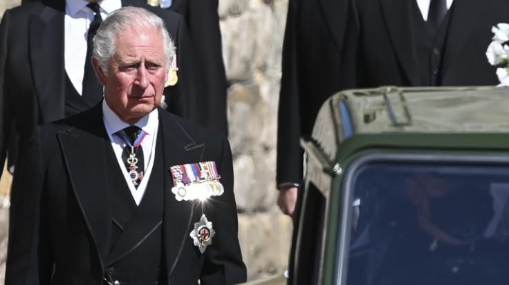 Prinz Charles trauert nach dem Tod seines Vaters in Wales. (Foto)