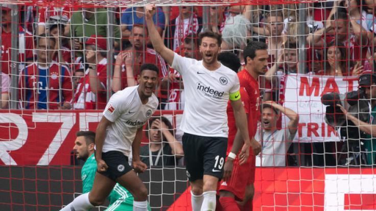 Sébastien Haller (links) wechselt zu West Ham United. (Foto)