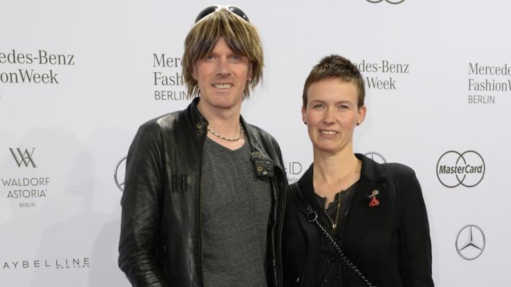 Sänger Mickie Krause besuchte mit seiner Frau Ute die Berliner Fashion Week 2016.