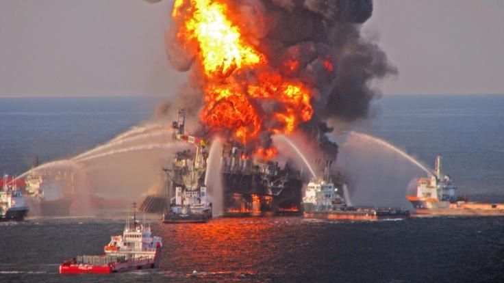 Umweltkatastrophen: Die brennende Deepwater Horizon