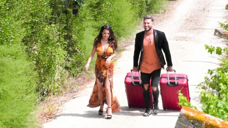 Elena Miras und Mike Heiter im Sommerhaus der Stars