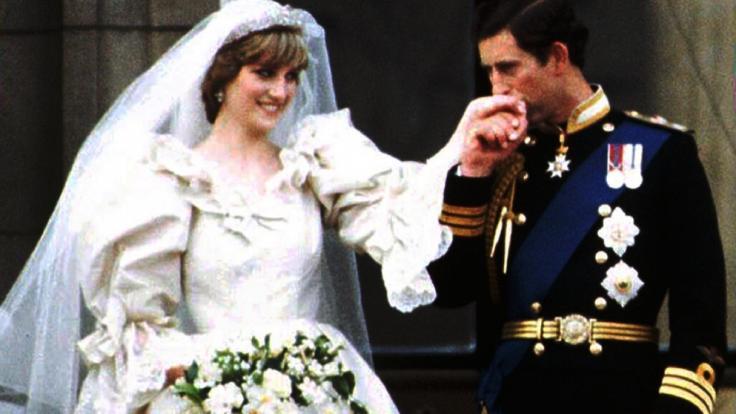 Die Liebe von Prinzessin Diana und Prinz Charles sollte nicht von Dauer sein: 1996, 15 Jahre nach der Hochzeit, wurde das Paar geschieden. (Foto)