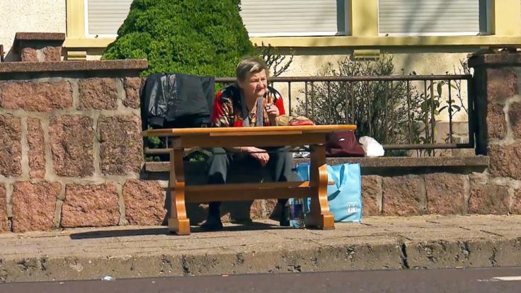 Karin Ritter ist obdachlos. Sie verlor ihre Übergangswohnung. (Foto)