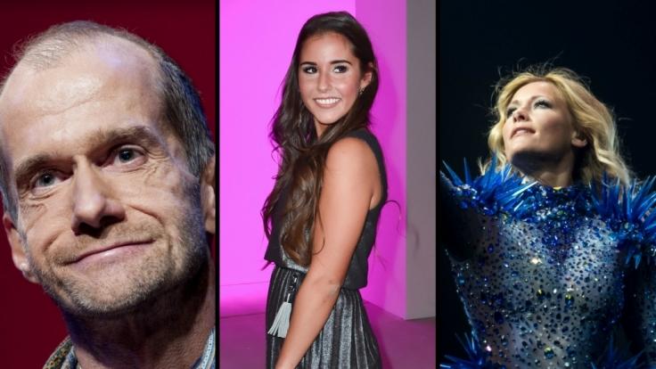 Schauspieler Georg Uecker, Sängerin Sarah Lombardi und Schlagerstar Helene Fischer (v.l.n.r.) schockten ihre Fans mit schlimmen Krankheits-Offenbarungen. (Foto)