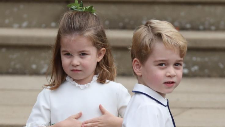 Einfach goldig: Prinzessin Charlotte und Prinz George. (Foto)