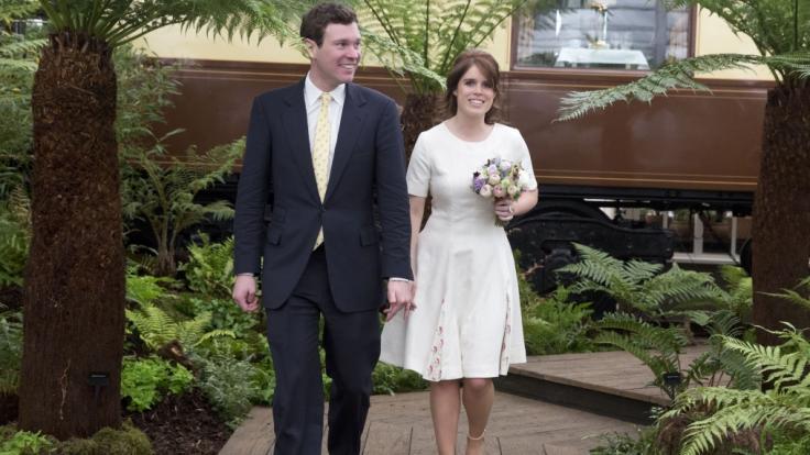 Prinzessin Eugenie von York wird im Herbst 2018 ihren Verlobten Jack Brooksbank heiraten.