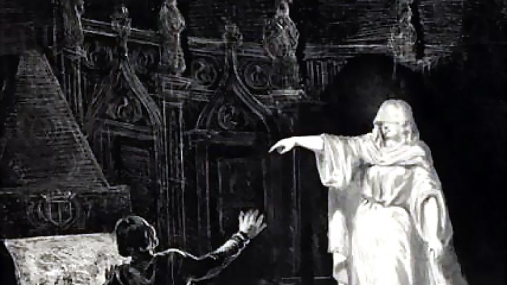 Die Weiße Frau soll auch auf Schloss Drottninghholm ihr Unwesen treiben