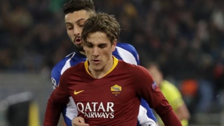 Wird AS-Rom-Supertalent Nicolo Zaniolo künftig für die Bayern spielen? (Foto)