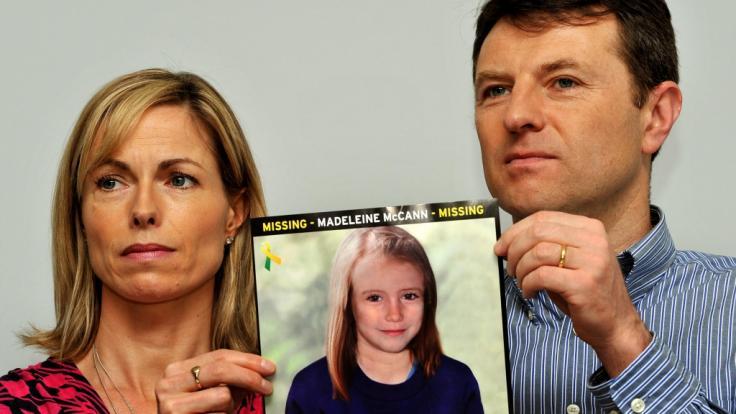 Kate und Gerry McCann haben die Hoffnung, ihre 2007 verschwundene Tochter Maddie lebens wiederzusehen, nie aufgegeben. (Foto)