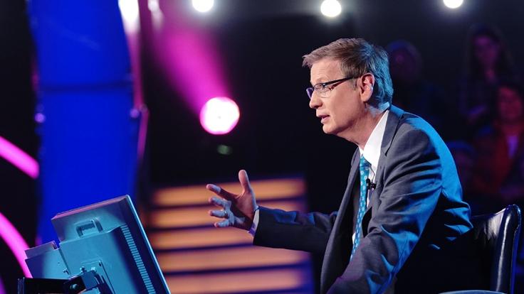 """Bei """"Wer wird Millionär"""" hat Günther Jauch für seine Kandidaten wieder knifflige Fragen parat. (Foto)"""