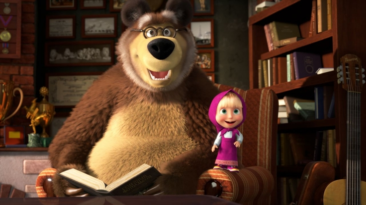 Mascha und der Bär bei KiKA