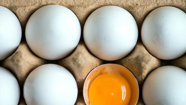 Mehrere Handelsketten rufen Eier wegen Salmonellen-Befalls zurück.