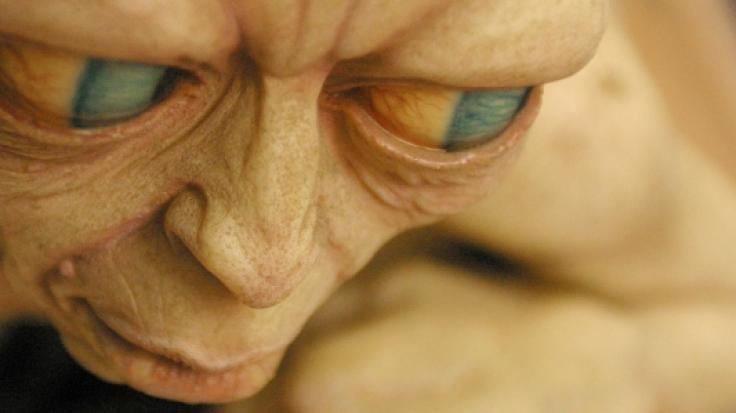 """Eine Nachbildung der Figur des Gollum aus dem Film """"Herr der Ringe"""". (Foto)"""