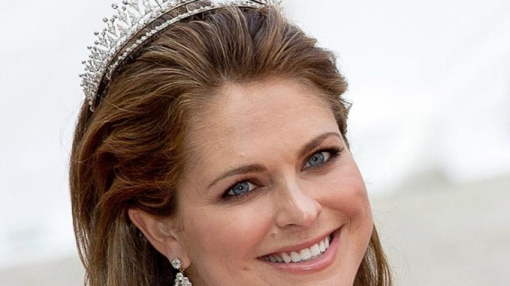 Prinzessin Madeleine von Schweden schwelgt im Mutterglück: Anfang März 2018 kam mit Prinzessin Adrienne ihr drittes Kind zur Welt.