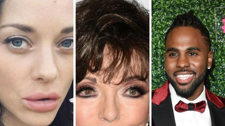 Unsere Verlierer der Woche: Marion Cotillard, Joan Collins und Jason Derulo.