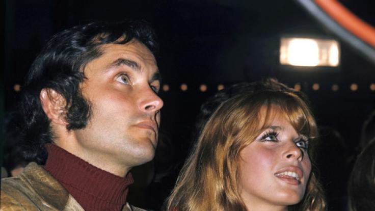 Senta Berger mit ihrem Ehemann Michael Verhoeven in den 70er Jahren. (Foto)