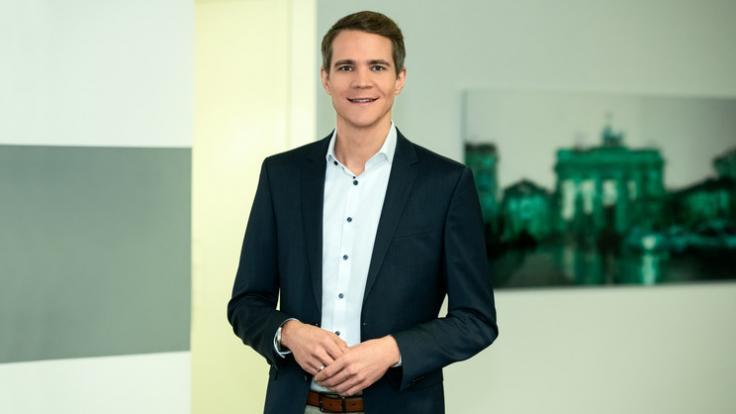 """Dr. Daniel Pontzen ist Hauptstadtkorrespondent des ZDF und moderiert das """"Mittagsmagazin"""". (Foto)"""