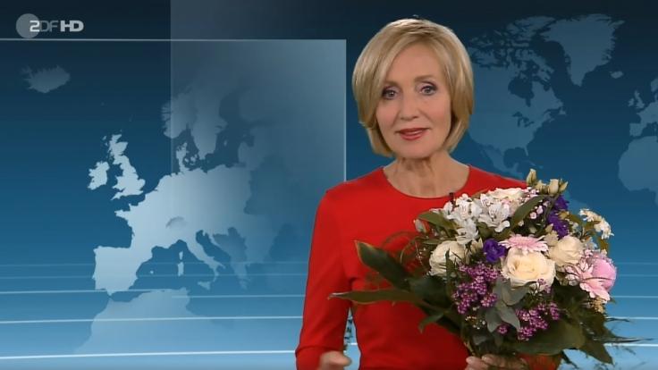 """Abschied nach 23 Jahren und 3.661 Sendungen: Petra Gerster hat ihre letzte """"heute""""-Sendung im ZDF moderiert. (Foto)"""