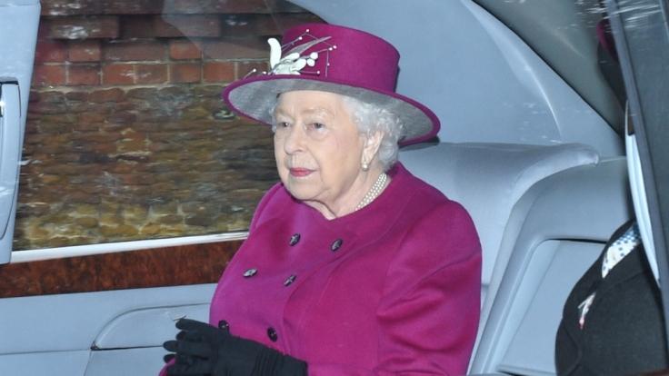 Die britische Königin Elizabeth II. ist
