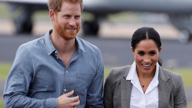 Prinz Harry und Meghan Markle haben Ärger mit der Baubehörde. (Foto)