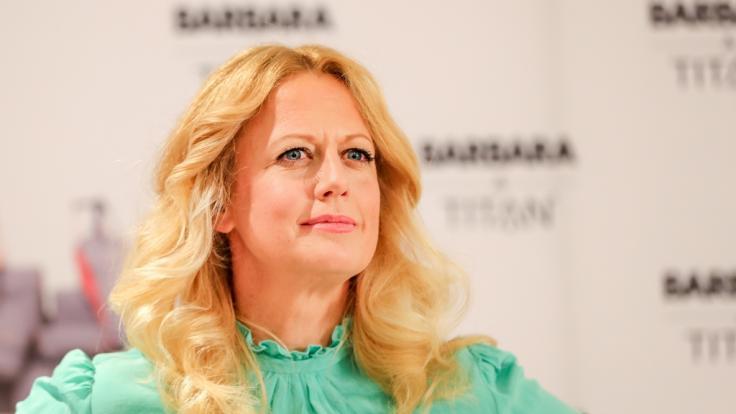 Barbara Schöneberger kann den Wirbel um ihre Figur nicht verstehen.