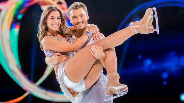 """Sarah Lombardi musste bei """"Dancing on Ice"""" mit einer Verletzung pausieren. (Foto)"""