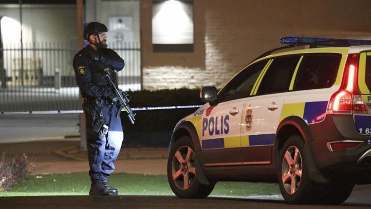 Im schwedischen Göteborg ist ein Polizist im Dienst erschossen worden (Symbolbild). (Foto)