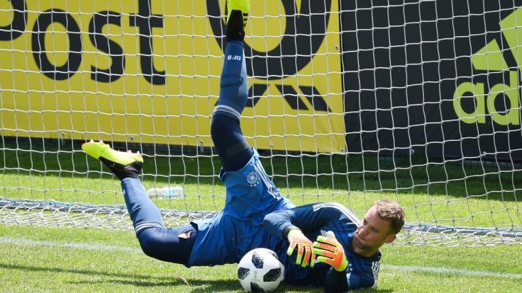 Kommt Manuel Neuer mit zur WM? (Foto)