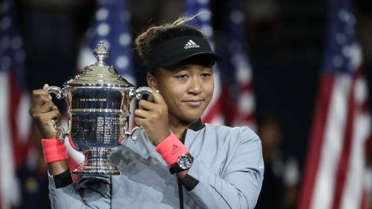 Japans Tennis-Aufsteigerin Naomi Osaka besiegte Serena Williams in einem US-Open-Finale. (Foto)