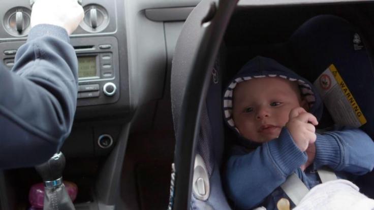 Baby an Bord: Die meisten Kindersitze fürs Auto sind
