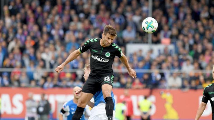 HeimspielSpVgg Greuther Fürth: Die aktuellen Spielergebnisse der 2. Fußball-Bundesliga bei news.de. (Foto)