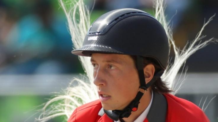 Martin Fuchs ist ein Schweizer Springreiter. (Foto)