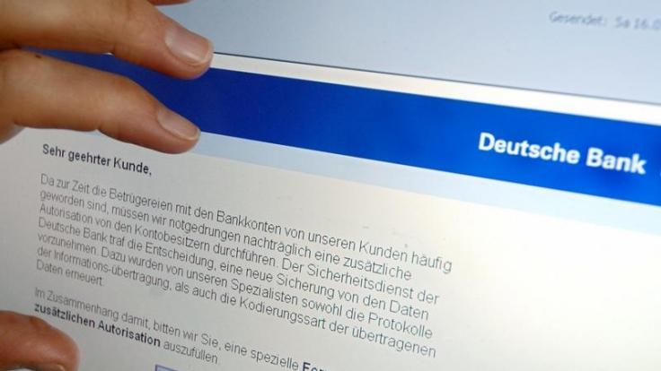 Verbraucher können Phishing-Mails melden (Foto)