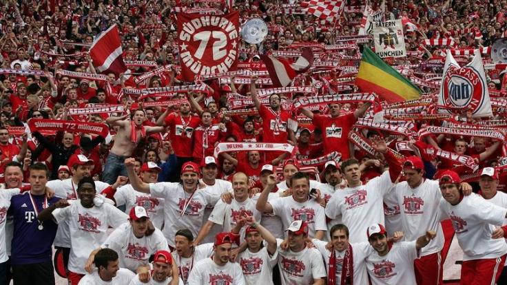 Meister-Bayern im Oranje-Rausch: «Einmalige Chance» (Foto)