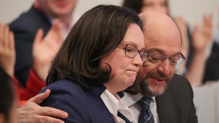 Die SPD steckt in einer tiefen Krise.