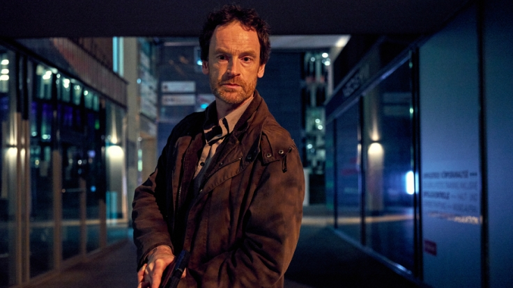 Nicht weit entfernt vom Tatort entdeckt Kommissar Peter Faber (Jörg Hartmann) ein Büro, in dem spät in der Nacht gearbeitet wird. (Foto)