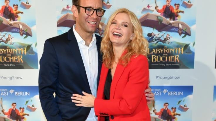 Peter Imhof ist mit der Moderatorin Eva Imhof verheiratet. (Foto)