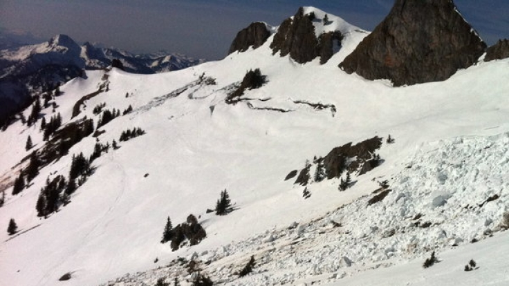 Die Lawinengefahr in den Alpen entspannt sich ein wenig.