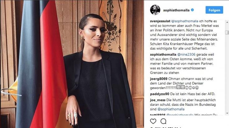 Sophia Thomalla nennt Till Lindemann ihren Partner. (Foto)
