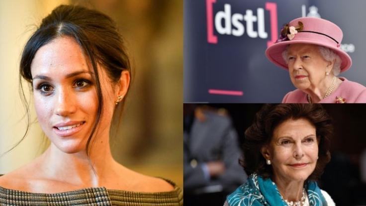 Die Royal-News berichteten in dieser Woche über Meghan Markle, Königin Silvia von Schweden und Queen Elizabeth II.
