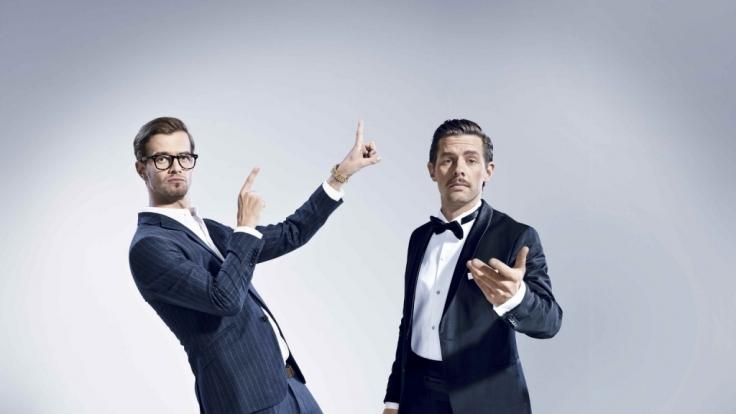 """Joko Winterscheidt (l.) und Klaas Heufer-Umlauf (r.) suchen die """"Beste Show der Welt"""". (Foto)"""