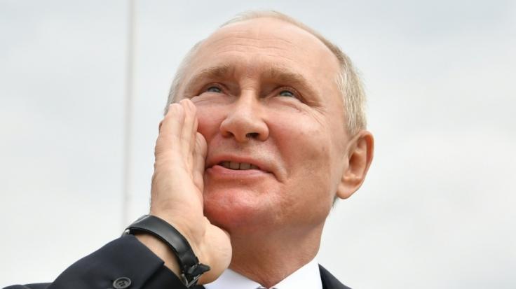 Was plant Wladimir Putin da wieder? (Foto)