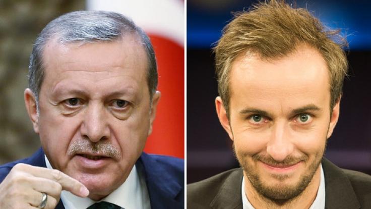 """Mehreren Medienberichten zufolge soll Erdogan konkrete Anweisungen erteilt haben, um Böhmermann """"abzustrafen"""". (Foto)"""