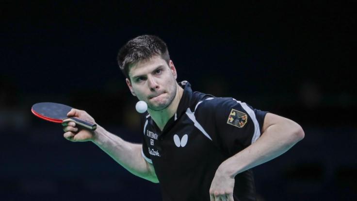 Dimitrij Ovtcharov bei den Olympischen Spielen 2016. (Foto)