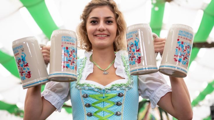 Das Münchner Oktoberfest 2019 wird am 21. September eröffnet.